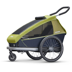 Croozer Kid for 1 Fahrradanhänger lemon green